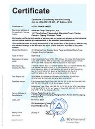 API607防火证书1
