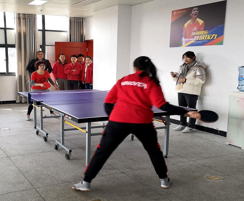 """新年新作为,公司职工积极参加 """"高新杯""""职工乒乓球、羽毛球比赛荣获好成绩"""